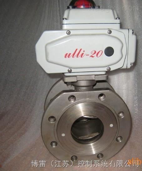 q971电动对夹球阀-dn50电动对夹球阀 不锈钢对夹球阀图片