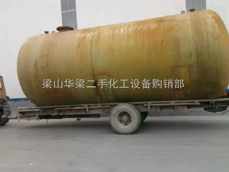 二手100吨玻璃钢储罐价格现货出售