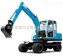 劲工JG-65S轮式 挖掘机 小型挖掘机 厂家直销