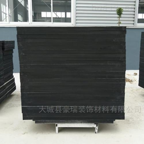 上海岩棉玻纤板黑色板装饰