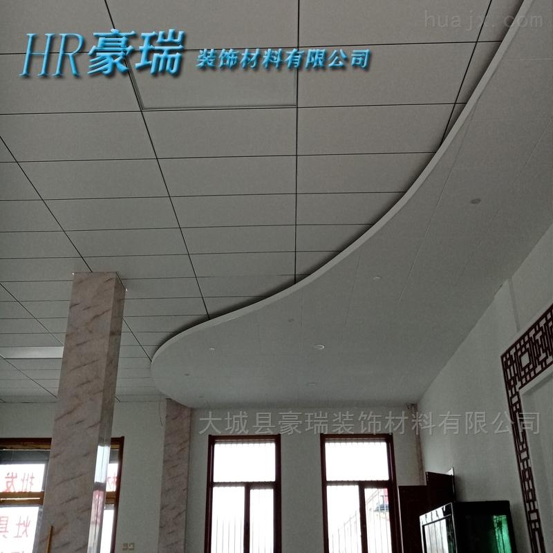 广州岩棉玻纤聚酯纤维板造型