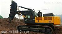 现代R455挖机岩石臂 鹰嘴臂 矿山专用臂