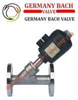 进口法兰式气动角座阀|-德国Bach品牌
